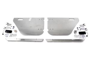 Savvy Offroad Aluminum Rear Half Doors ( Part Number: SAV-JKRHD)