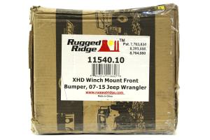 Rugged Ridge XHD Winch Mount Front Bumper - JK