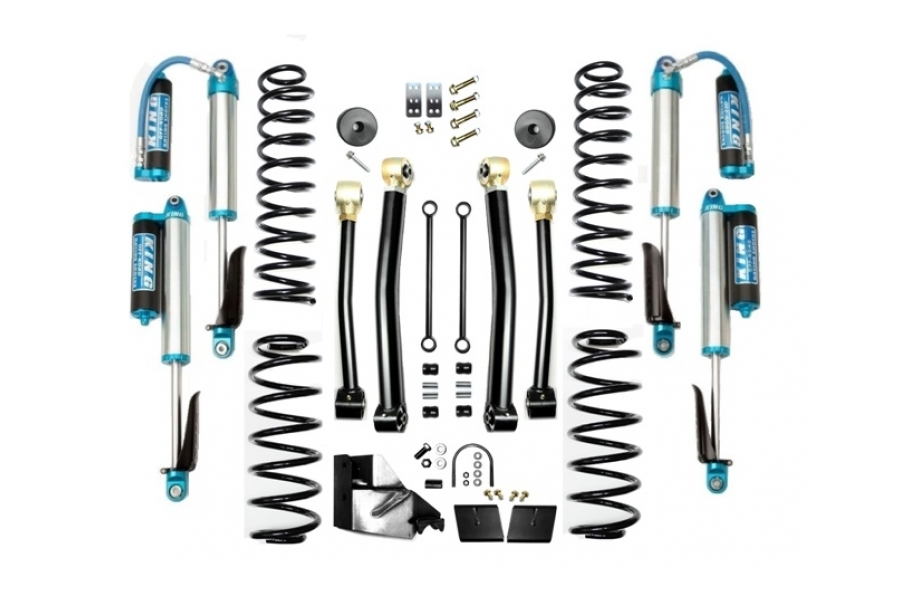 EVO Manufacturing 3.5in Enforcer Lift Kit w/King Shocks Stage 3 (Part Number:3013S3K)