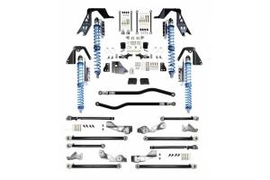 Evo Manufacturing NV2514 High Clearance PRO Long Arm PLUS Lift Kit - BLACK - JL Diesel