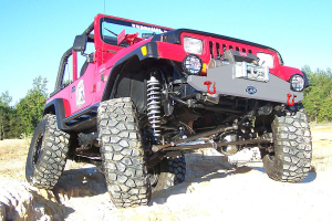 LOD Stubby Front Winch Bumper Bare Steel (Part Number: )