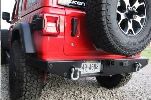 Rock Hard 4x4 Patriot Series Rear Bumper - JL