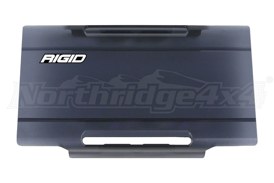 Rigid Industries E-Series 6IN Light Cover, Smoked (Part Number:106983)