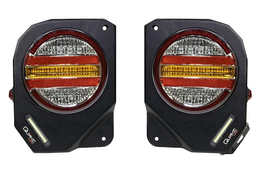 Quake LED Metal Tek Tail Lights - JK