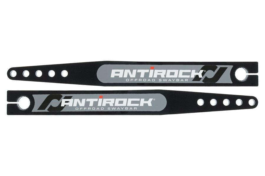 RockJock Antirock Fabricated Steel Sway Bar Arms, 20in - Pair - YJ