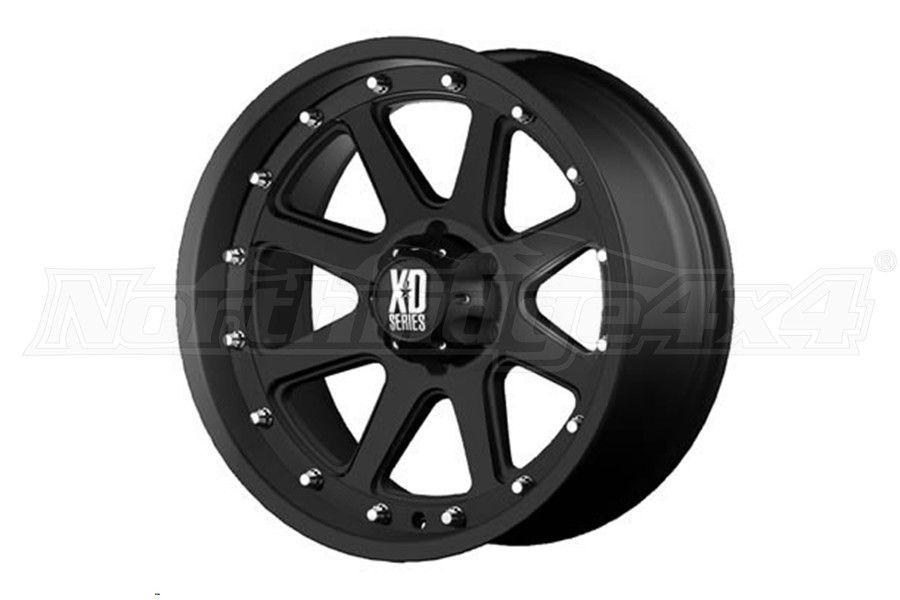 XD Series Addict Non-Beadlock Wheel Matte Black, 17x9 5x5   (Part Number:XD79879050712N)
