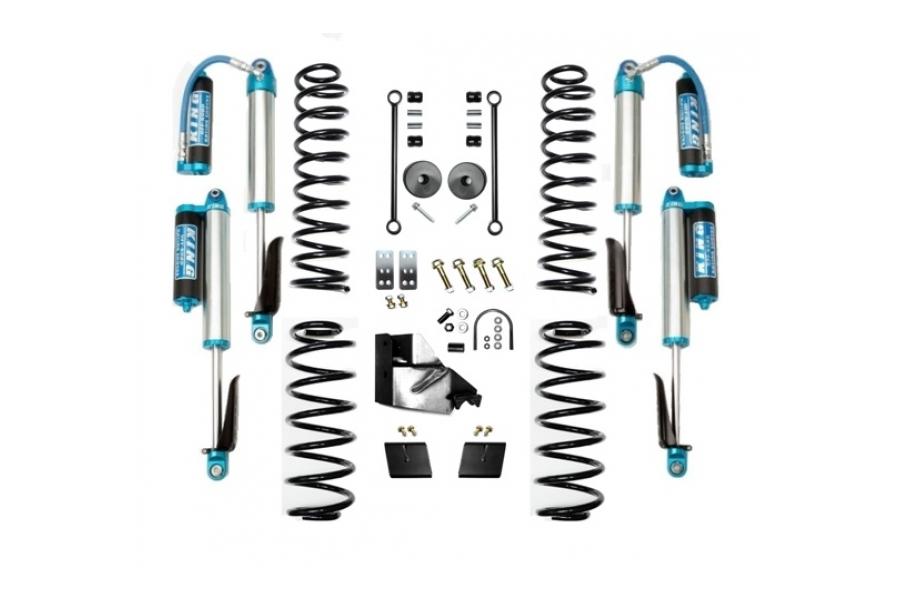 EVO Manufacturing 3.5in Enforcer Lift Kit w/King Shocks Stage 1 (Part Number:3013S1K)