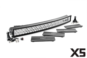Rough Country 40in Dual Row X5 Series Curved Light Bar (Part Number: )