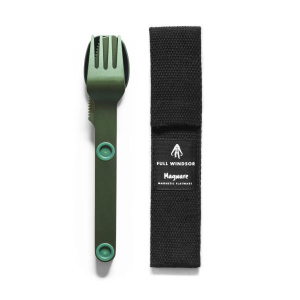 Full Windsor Magware Magnetic Flatware, Single Set - Green