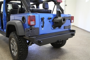 Rock Hard 4x4 Patriot Series Aluminum Rear Bumper (Part Number: )