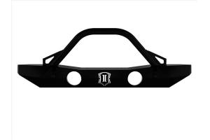 Icon Vehicle Dynamic Pro Series Mid-Width Front Bumper w/ Bar  - JK