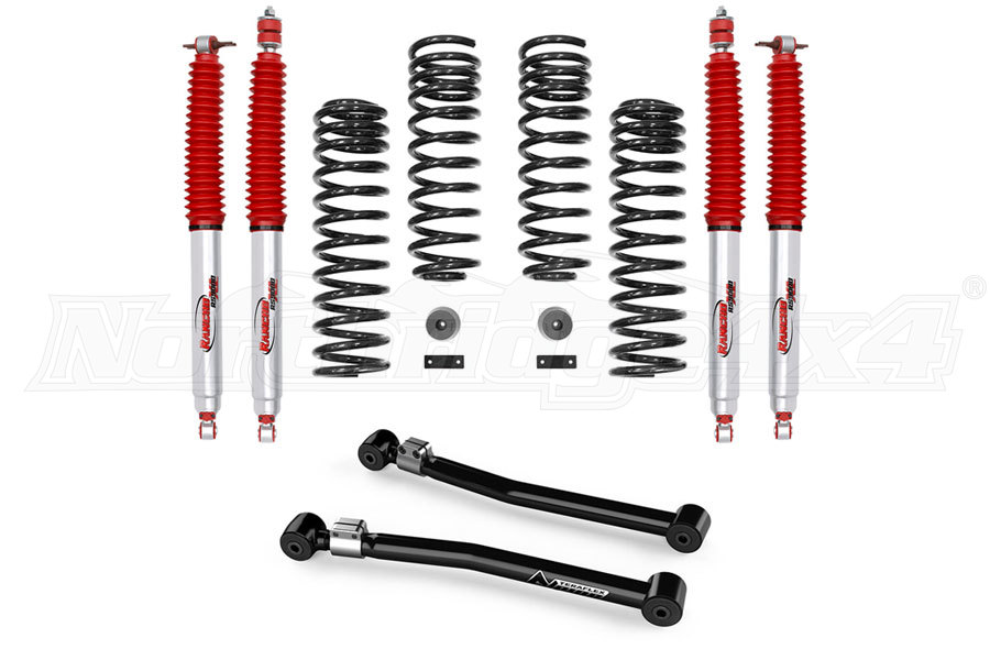 Rancho 2in Sport Lift Suspension System and Front Lower Flexarm Kit Package - JK 4dr