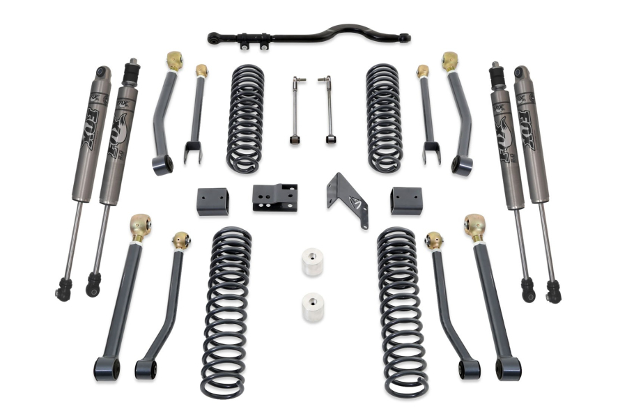 Maxtrac 4.5in Lift Kit w/ Front Tracbar w/ Adjustable Arms and Fox Shocks (Part Number:K889745FA)