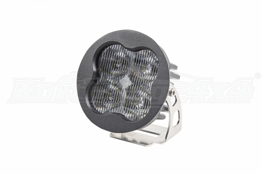 Diode Dynamics SS3 Pro, Round - Fog, White