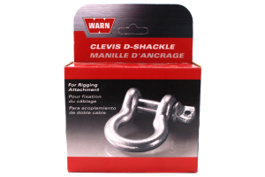 Warn 4500lbs 1/2in Shackle  (Part Number: )
