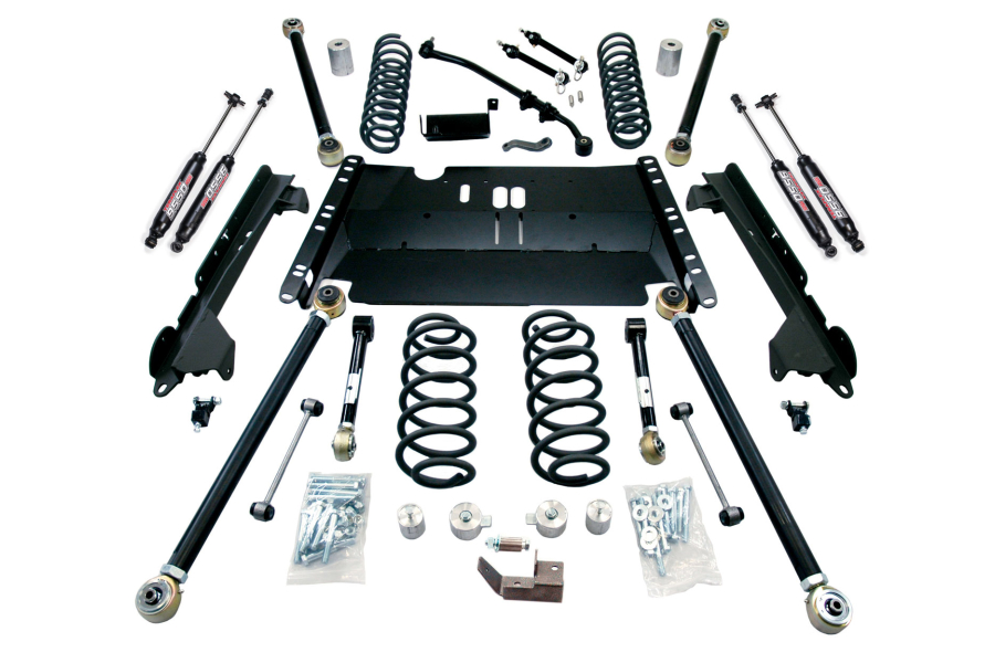 Teraflex 4in Enduro LCG Lift Kit W/9550 Shocks (Part Number:1249482)