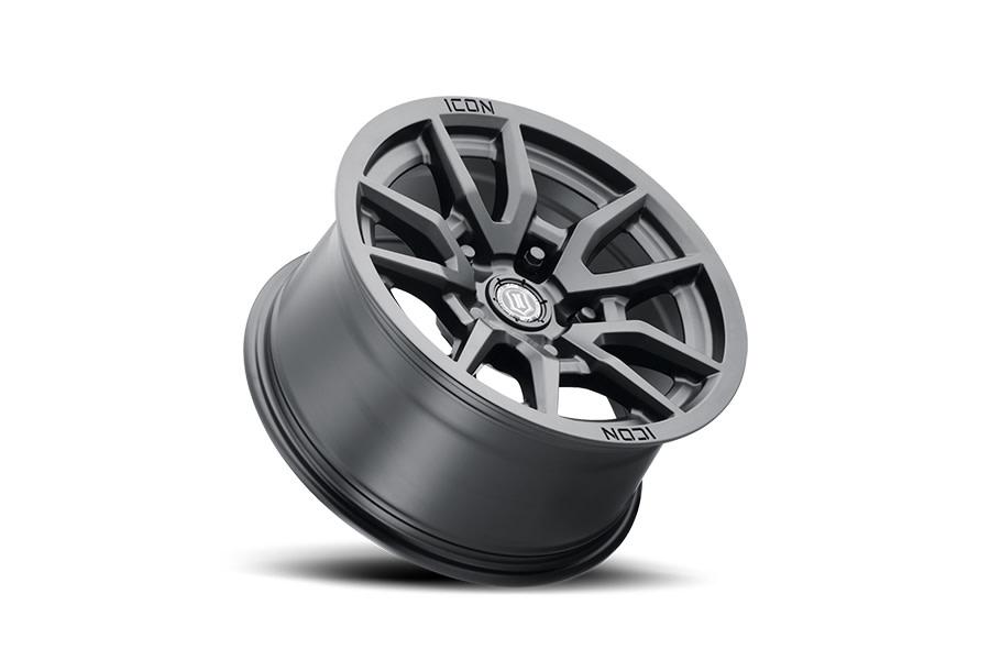 Icon Vehicle Dynamics Vector 5 Satin Black Wheel 17x8.50 5x5 - JT/JL/JK