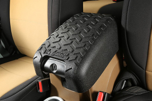 Rugged Ridge Center Console Cover, Blk (Part Number: )