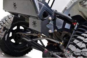 Poison Spyder Steering Box Skid Plate - TJ