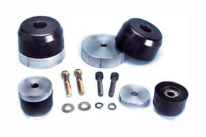 Currie Enterprises Front Polyurethane Bump Stop Kit - TJ