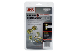 JKS Shock Bar Pin Eliminator Kit Front - LJ/TJ/WJ/XJ/ZJ