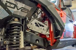 DV8 Offroad Under Hood Mount for ARB Twin Compressor - JL/JT
