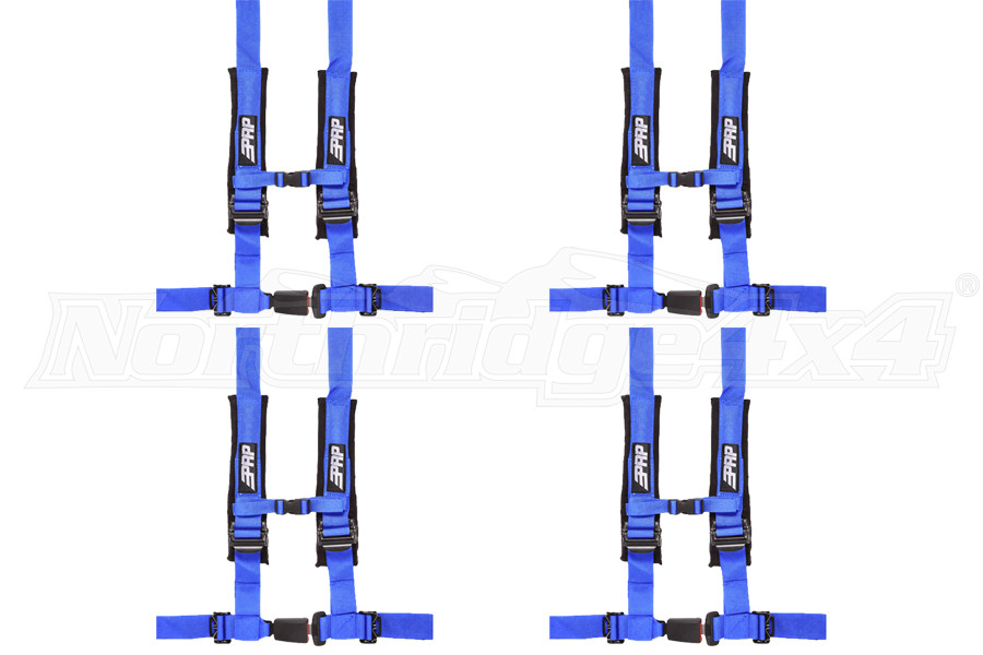 PRP 4 Point Harness Package