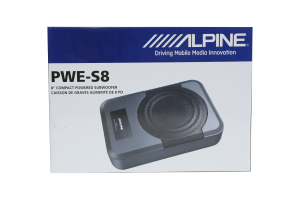 Alpine Compact Powered 8-Inch Subwoofer System  (Part Number: )