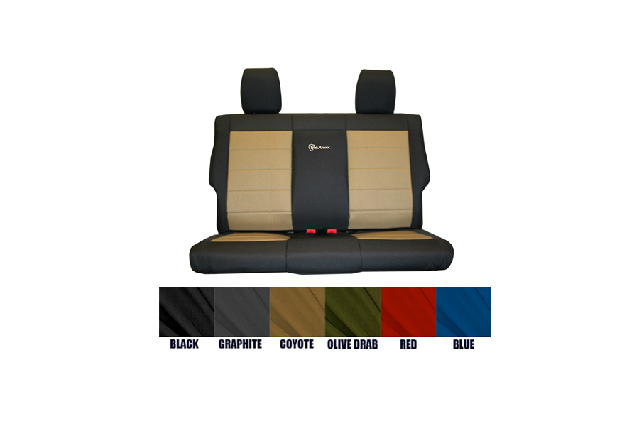 Bartact Rear Bench Seat Cover (Part Number:JKSC2013R2B)