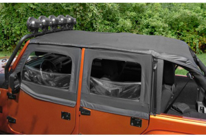 Rugged Ridge Pocket Island Topper Soft Top Black Diamond  (Part Number: )