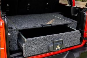 Jeep Rear Cargo Storage from ARB, Bestop, Dirty Dog 4x4