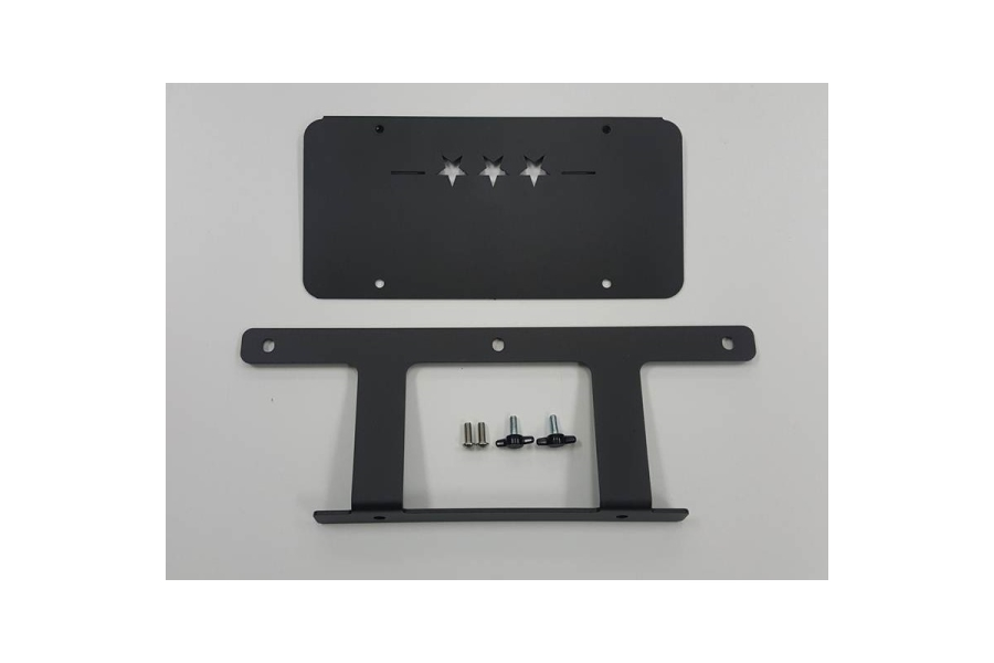 Maximus-3 Low Mount License Plate Bracket (Part Number:JL1023LL)