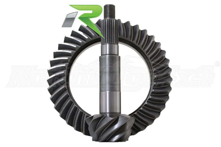 Revolution Gear Dana 44 5.38 Reverse Thick Ring and Pinion Gear Set, Front - JK Rubicon Only