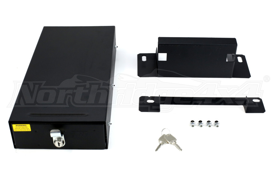 Tuffy Security Conceal Carry Drawer Black - LJ/TJ