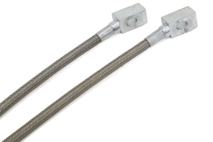 Rubicon Express RE1553 Front Stainless Steel Brake Line Set