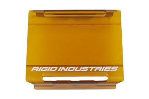 Rigid Industries E-Series Cover, Amber 4in (Part Number: )