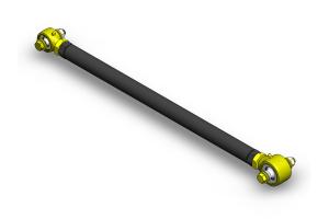 Clayton Custom Front Adjustable Track Bar w/Forged JJ 1.6 Width Lower (Part Number: )