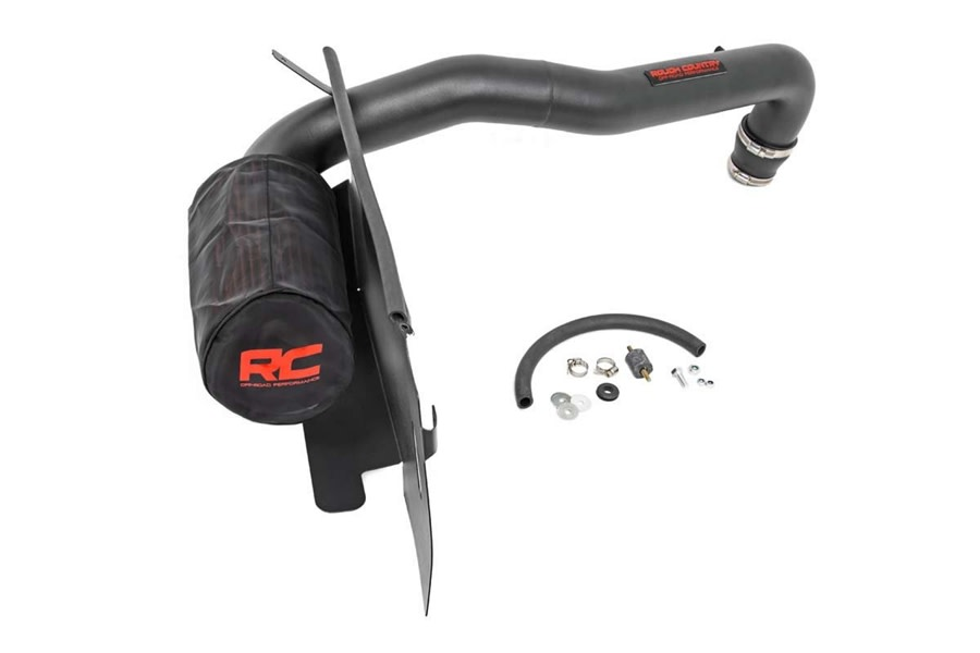 Rough Country Cold Air Intake System w/ Pre-Filter Bag   - TJ 1997-02 2.5L