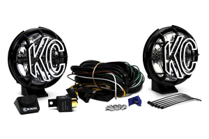 KC HiLites 5in Apollo Pro Halogen Pair Pack System Spread Beam (Part Number: )