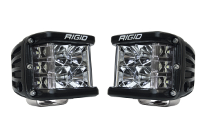 Rigid Industries D-SS Side Shooter LED Cube, Flood Pair ( Part Number: 26211)