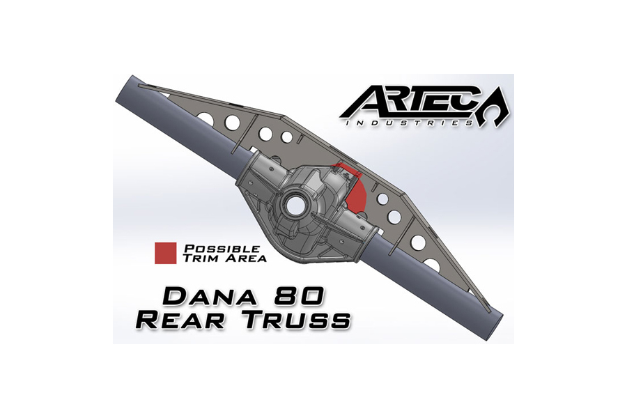 Artec Industries Dana 80 Rear Truss (Part Number:TR8001)