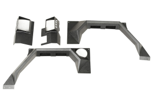 Rugged Ridge XHD Rear Armor Fenders ( Part Number: 11615.03)