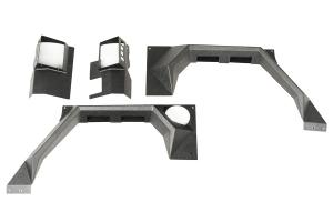 Rugged Ridge XHD Rear Armor Fenders - JK 2dr