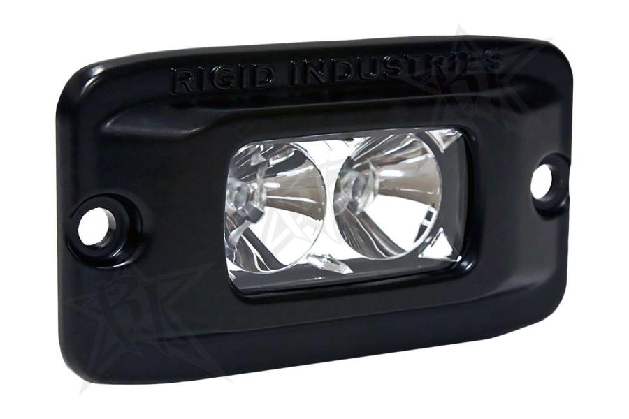 Rigid Industries SR-M Flush Mount Light Flood Amber (Part Number:922123)