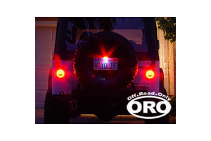 Off Road Only LED Tail Lights, Plate Kit and RH Bracket (Part Number: )