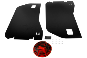 Bestop Element Door Enclosure Set Front Black - JK