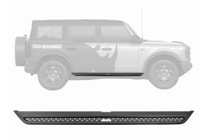 Go Rhino Dominator Extreme DSS Side Step Kit - Black - Ford Bronco 4Dr