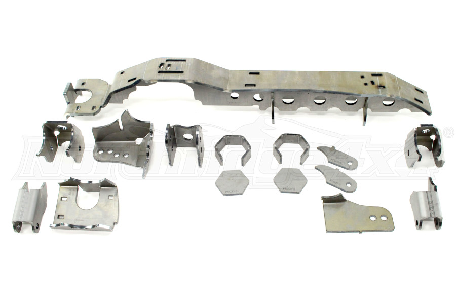 Artec Industries JK 1 TON - SUPERDUTY 99-04 Front Dana 60 Swap Kit - w/ Adjustable Truss Upper Link Mount - Single (Part Number:JK6033)