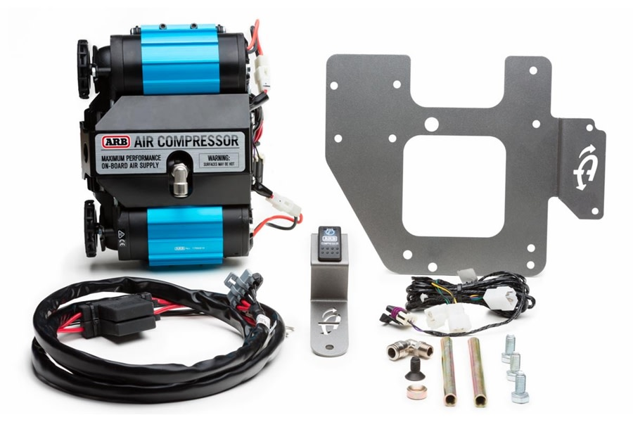 Up Down Air Bracket and ARB Compressor Package - JK