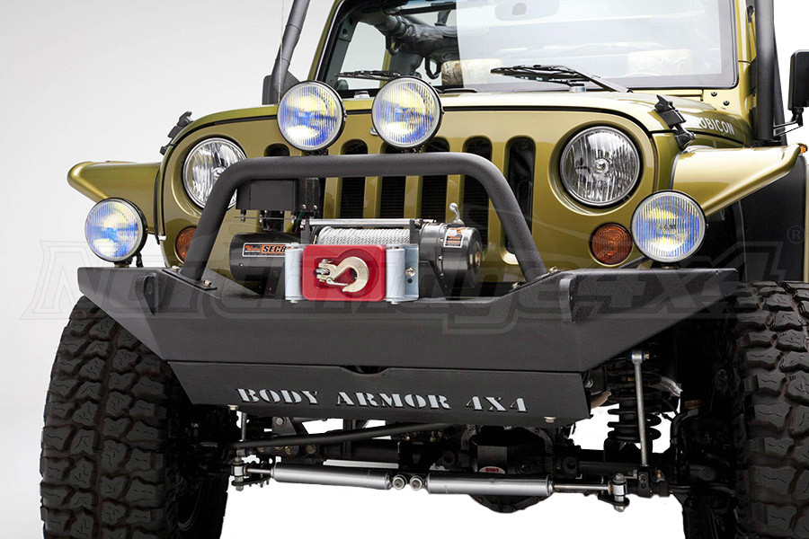 Body Armor Front Bumper  (Part Number:JK-19531)